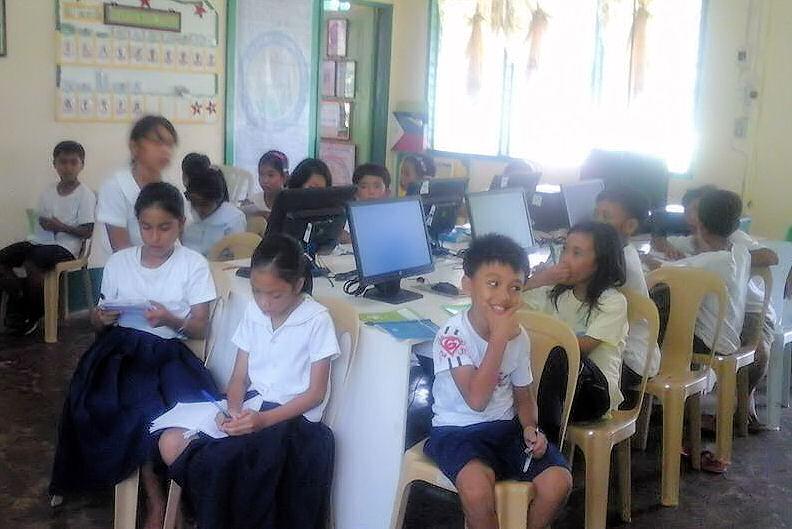 Salle d'informatique